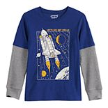 Boys 4-12 Jumping Beans® Spaceship Thermal Tee