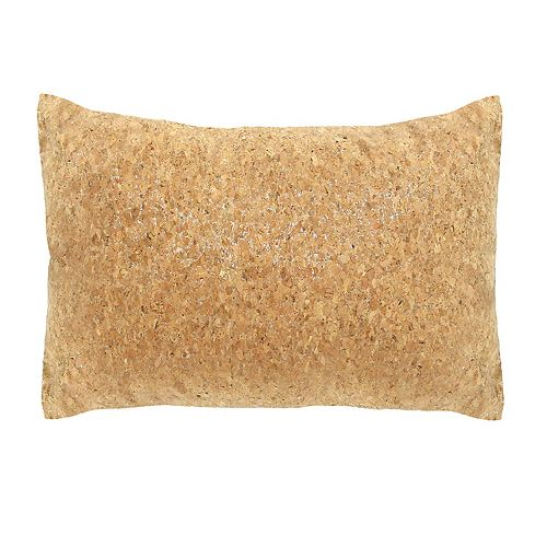 Stratton Home Decor Cork Lumbar Pillow