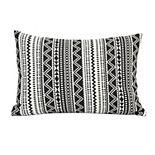 Stratton Home Decor Tribal Stripe Lumbar Pillow