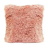 Stratton Home Decor Faux Fur Pillow