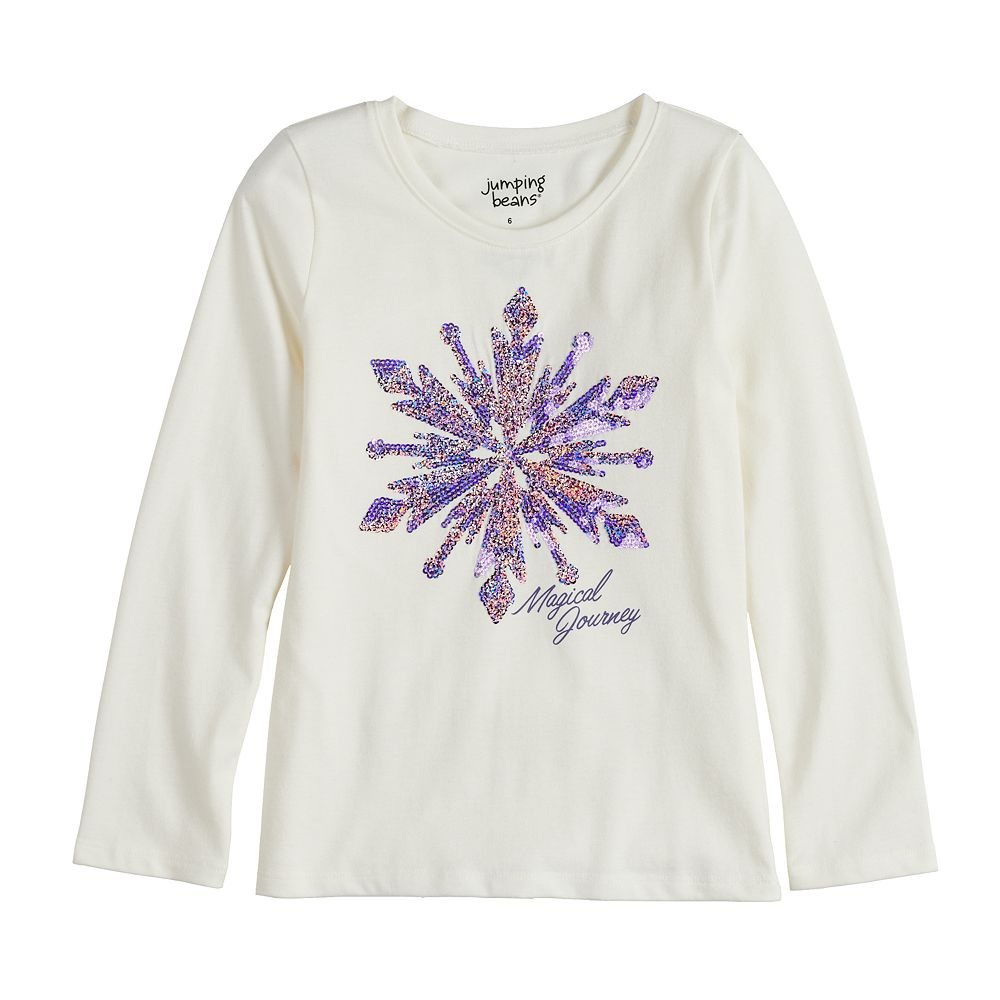 Disney's Frozen 2 Toddler Girl Snowflake Tee by Jumping Beans®
