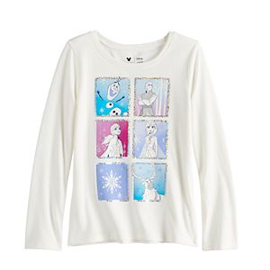 Disney's Frozen 2 Girls 4-12 Simple Long Sleeve Character Tee by Jumping Beans®