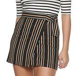 Juniors' Joe B Wrap Skirt
