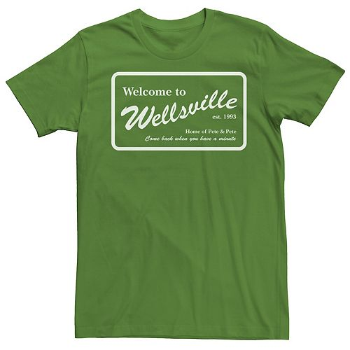 Men's The Adventures of Pete And Pete Wellsville Sign Tee