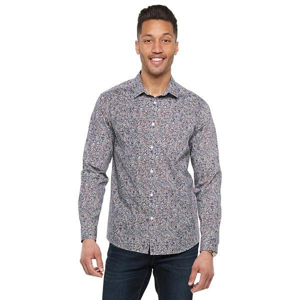 Men's Marc Anthony 1-Pocket Slim-Fit Casual Shirt