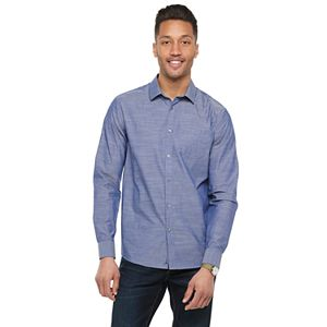 Men's Marc Anthony 1-Pocket Slim-Fit Casual Shirt