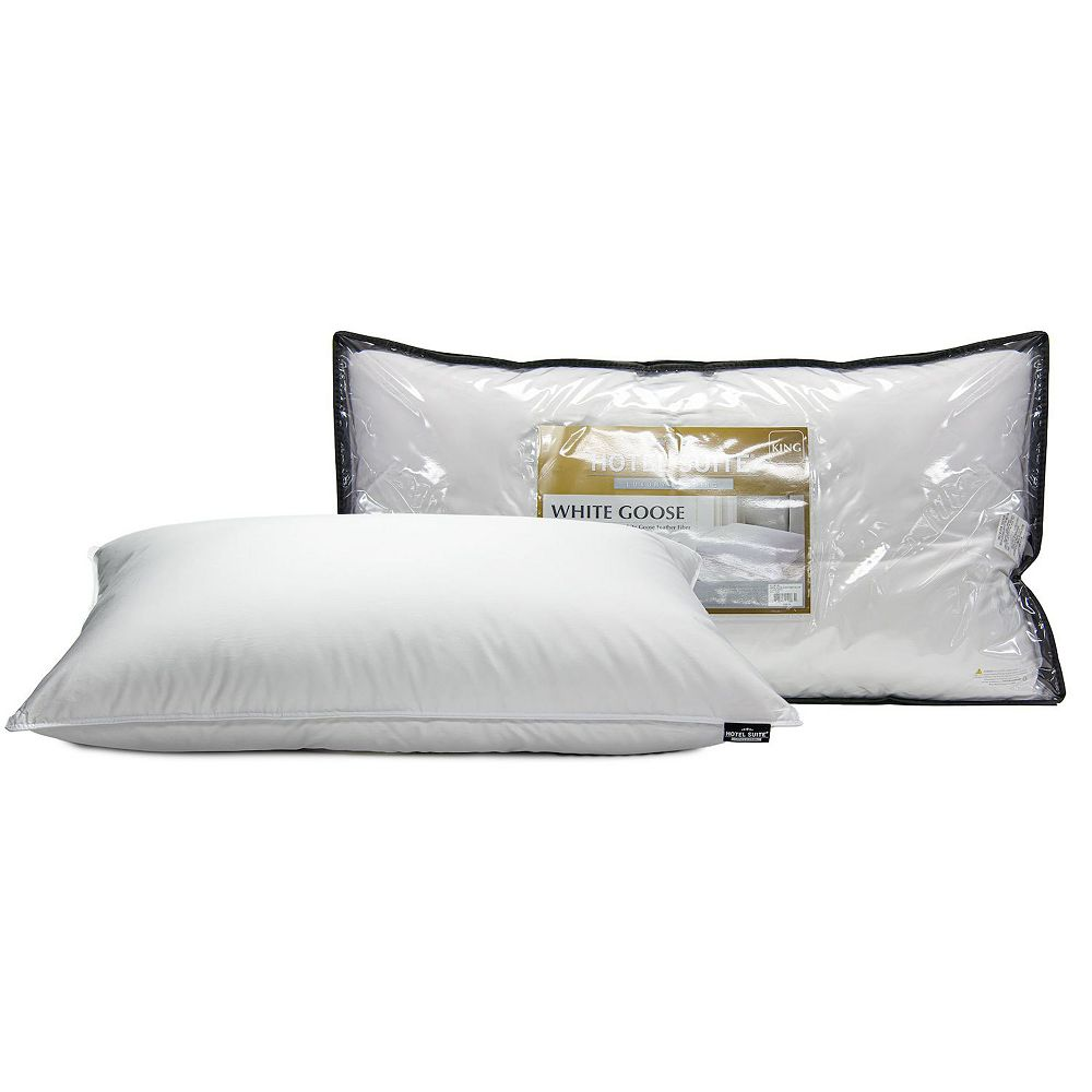 Hotel Suite White Goose Pillow