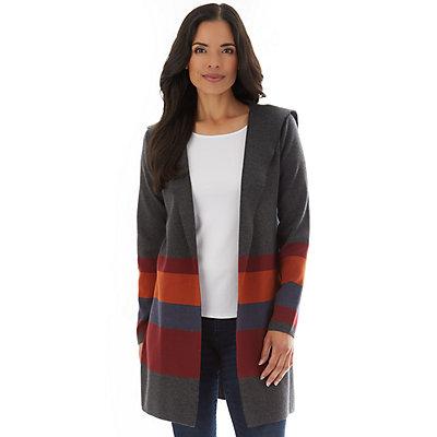 Petite Apt. 9® Open-Front Sweater Coatigan