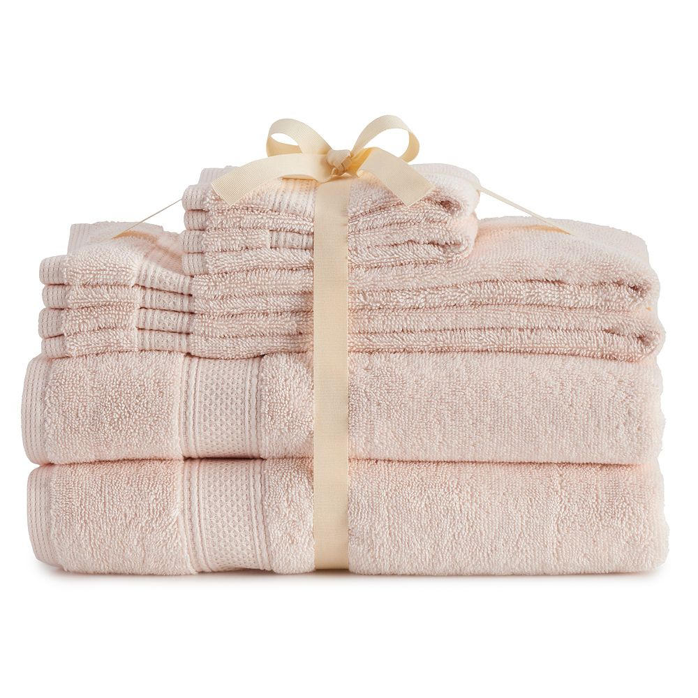 LC Lauren Conrad Organic Cotton 6-Piece Bath Towel Set
