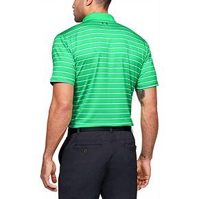 Big & Tall Under Armour 2.0 Divot Stripe Golf Polo