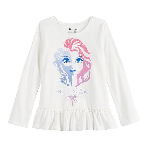 Disney The Ice Queen Elsa Frozen Long Sleeve T-Shirt