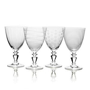 Mikasa Cheers Vintage 4-pc. Goblet Set