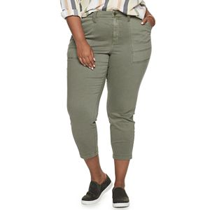 Plus Size EVRI Utility Skinny Pants