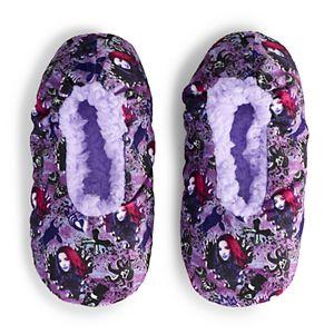 Disney's Descendants Girls 4-16 Fuzzy Babba Slipper Socks