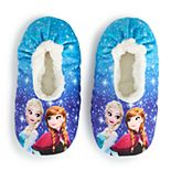 Disney's Frozen 2 Girls 4-9 Fuzzy Babba Slipper Socks