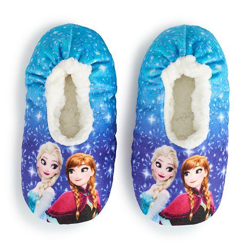 Disney's Frozen 2 Girls 4-9 Fuzzy Babba Slipper Socks