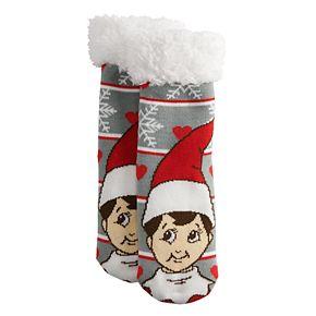 Girls 4-16 The Elf on the Shelf Cozy Warmer Slipper Socks