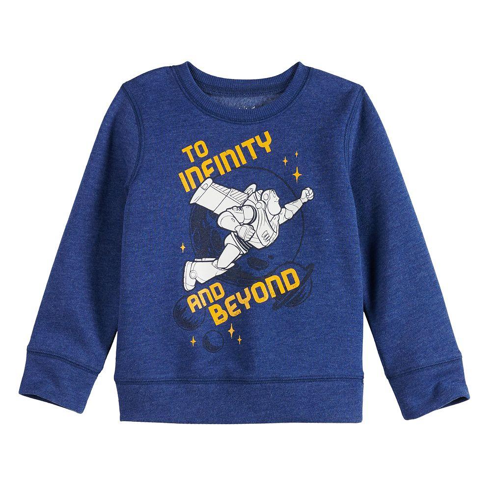 Disney/Pixar Toy Story Toddler Boy Buzz Lightyear Fleece Sweatshirt by Jumping Beans®