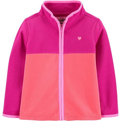 Toddler Girl OshKosh B'gosh® Colorblock Fleece Cozie