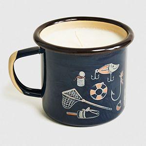 United By Blue Enamel Steel Candle Mug
