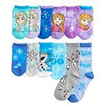 Disney's Frozen 2 Girls 4-6x 12 Days of Socks Advent Calendar Box