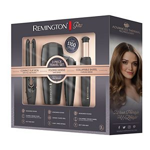 Remington Pro Advanced Thermal Technology 3-Piece Travel Set