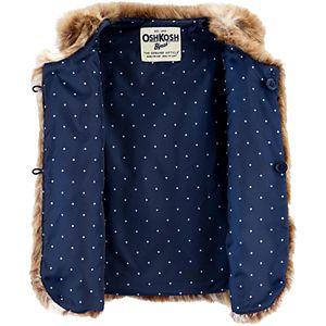 Toddler Girl OshKosh B'gosh® Faux Fur Vest