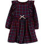 Toddler Girl OshKosh B'gosh® Ruffle Plaid Dress