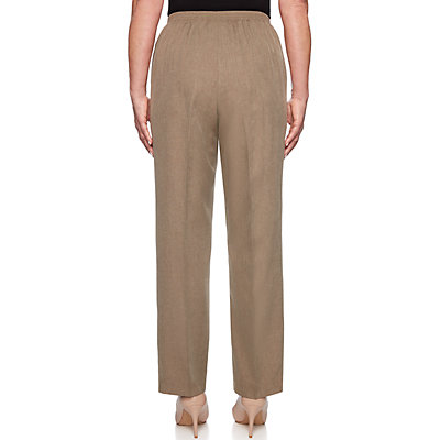 Petite Alfred Dunner Proportioned Straight-Leg Pants