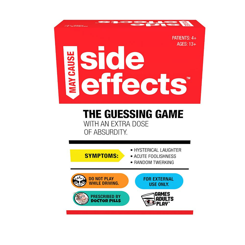 May Cause Side Effects Card Game by Pressman