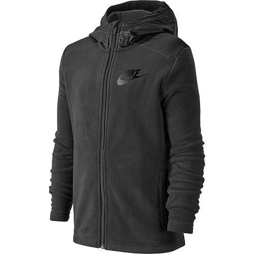 Boys 8-20 Nike Fleece Full-Zip Hoodie