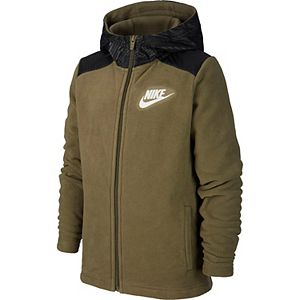 Boys 8-20 Nike Fleece Full-Zip Hoodie