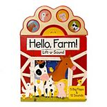 Hello Farm Lift-a-Sound: 5 Big Flaps & 12 Sounds