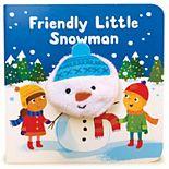 Friendly Little Snowman Puppet Book