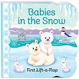 Babies in the Snow Chunky Lift-A-Flap Book