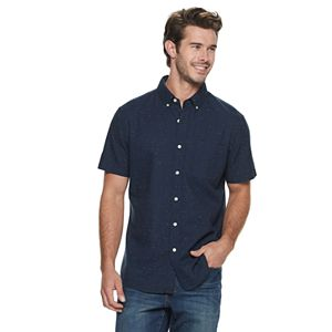 Men's SONOMA Goods for Life Textured Button-Up Shirt
