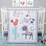 Sammy & Lou Farmstead Friends 4 Piece Crib Bedding Set