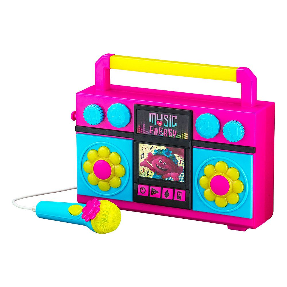 DreamWorks Trolls World Tour Sing Along Boombox by KIDdesigns