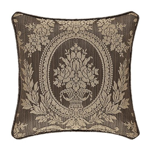 "37 West Neapolitan Mink 18"" Square Decorative Throw Pillow"