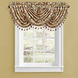 Five Queens Court August Multi Window Waterfall Valance