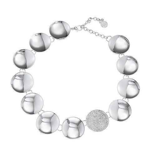 Dana Buchman Large Disc Collar Necklace