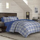IZOD Bryon Plaid Comforter Set