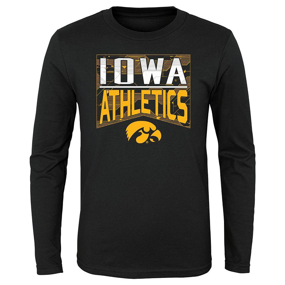 Boys 4-20 NCAA Iowa Hawkeyes Energy Long Sleeve Tee