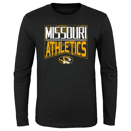 Boys 4-20 NCAA Missouri Tigers Energy Long Sleeve Tee