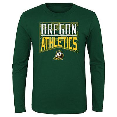 Boys 4-20 NCAA Oregon Ducks Energy Long Sleeve Tee