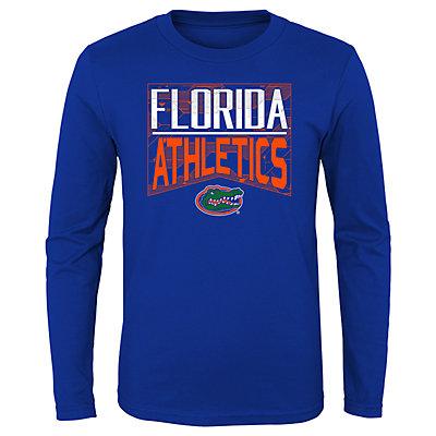 Boys 4-20 NCAA Florida Gators Energy Long Sleeve Tee