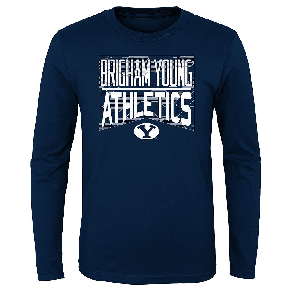 Boys 4-20 NCAA BYU Cougars Energy Long Sleeve Tee