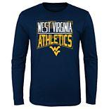 Boys 4-20 NCAA West Virginia Mountaineers Energy Long Sleeve Tee