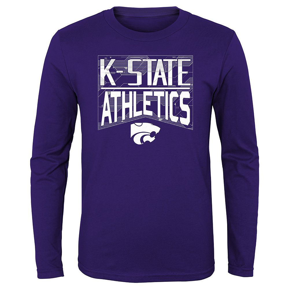Boys 4-20 NCAA Kansas State Wildcats Energy Long Sleeve Tee