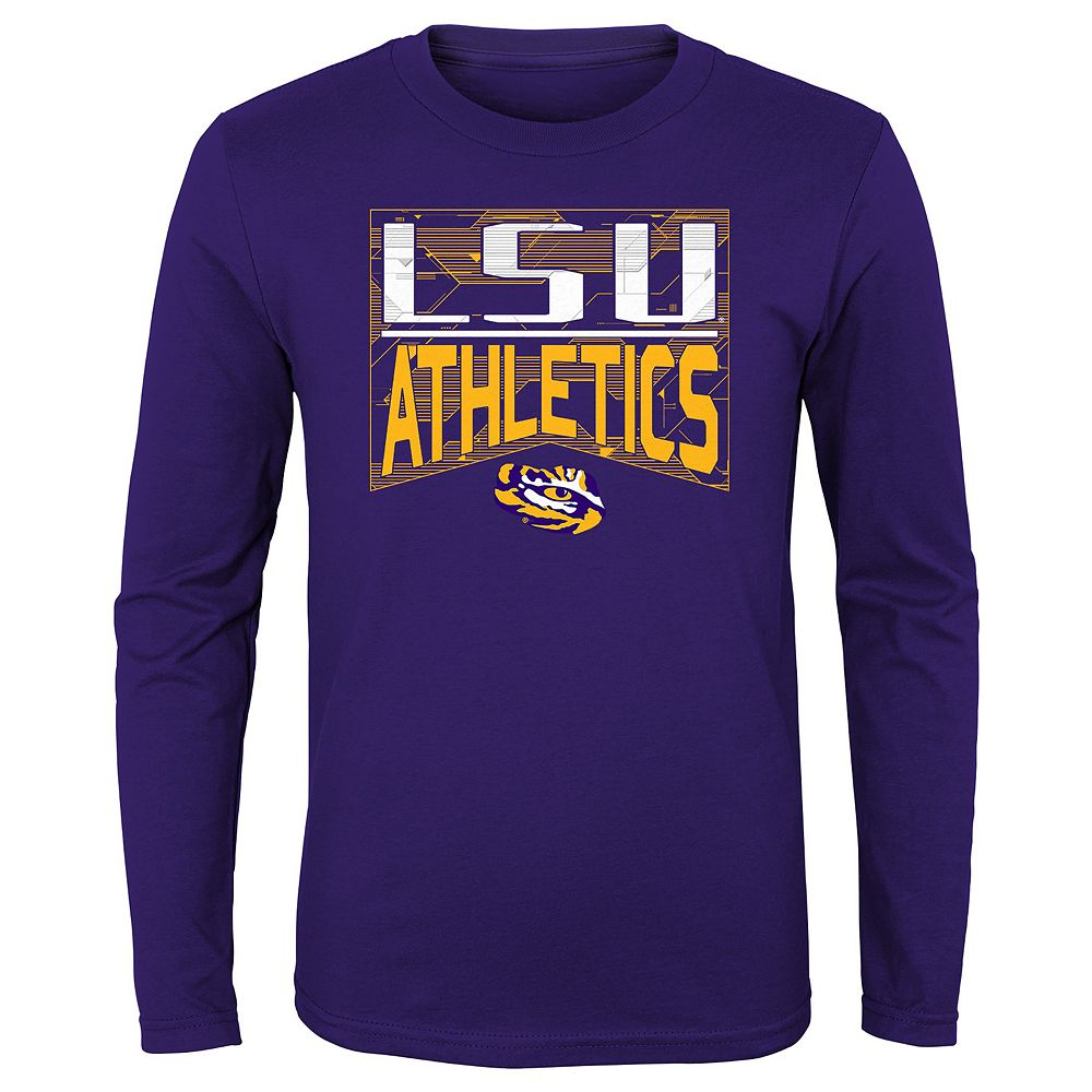 Boys 4-20 NCAA LSU Tigers Energy Long Sleeve Tee